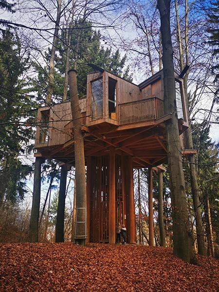 Drevesna hiška