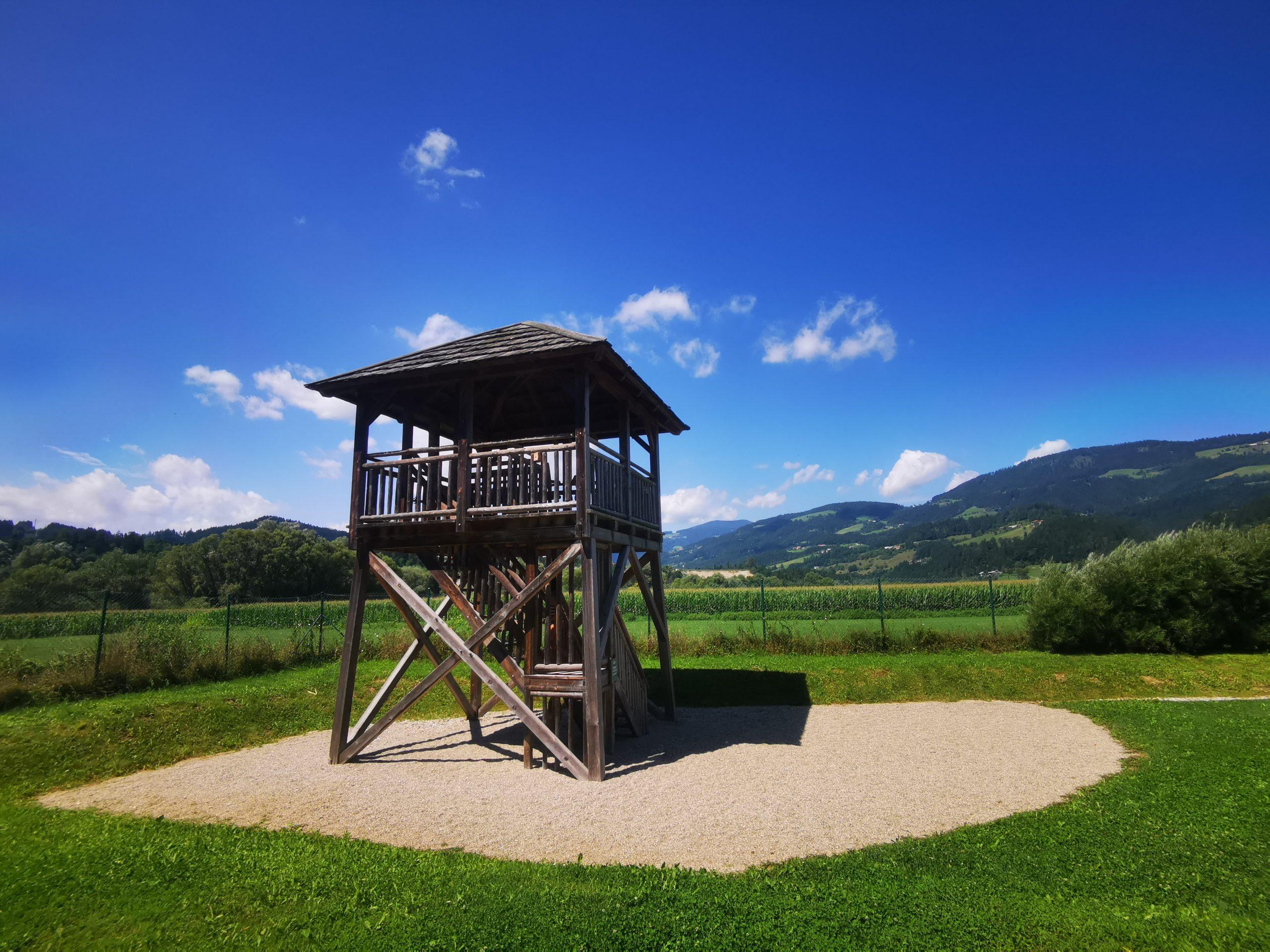 Razgledni stolp, Vodni park Radlje ob Dravi