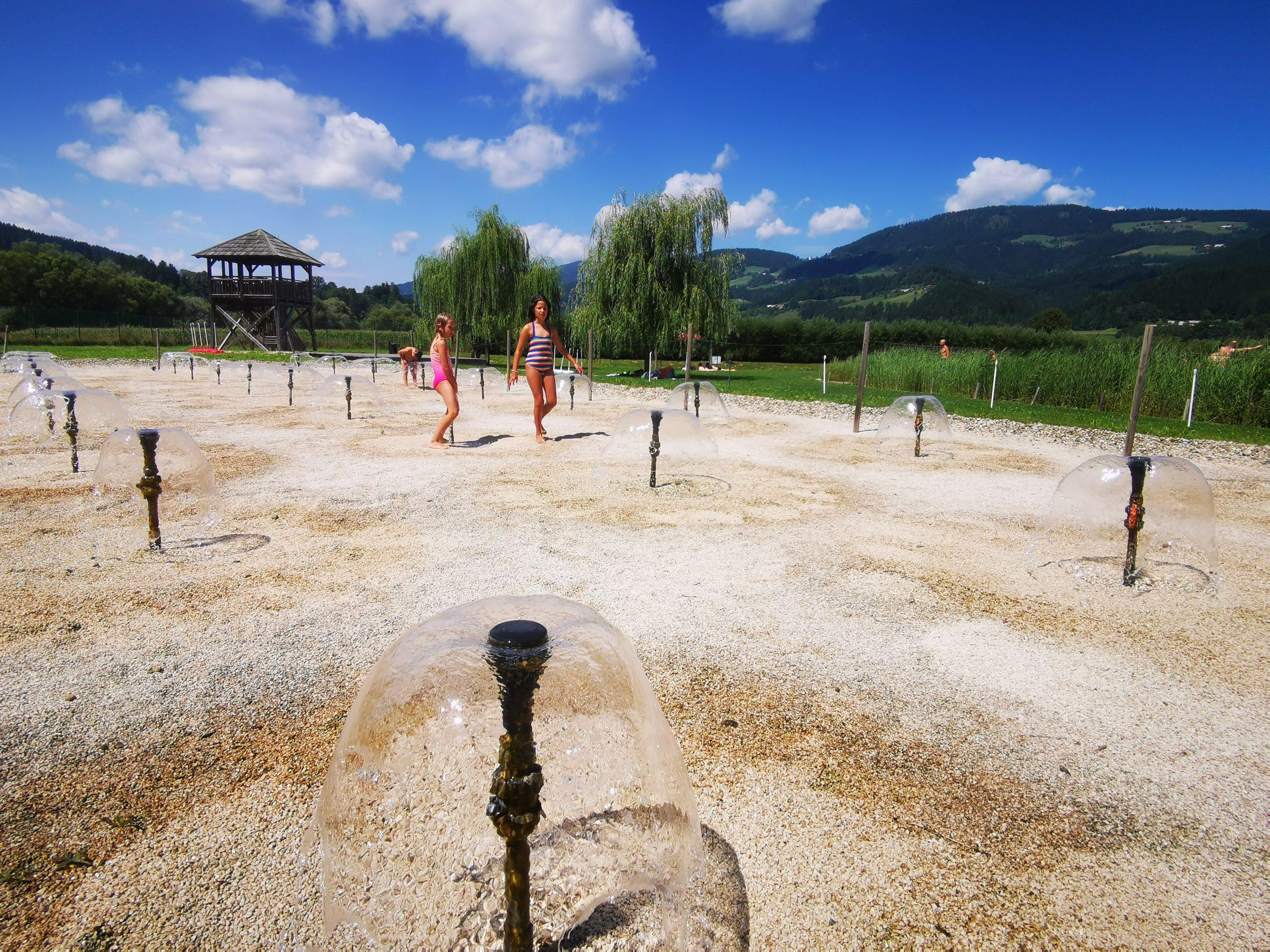 Čistilna naprava, Vodni park Radlje ob Dravi