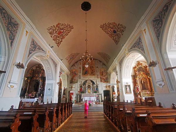 Cerkev ob samostanu, Nazarje